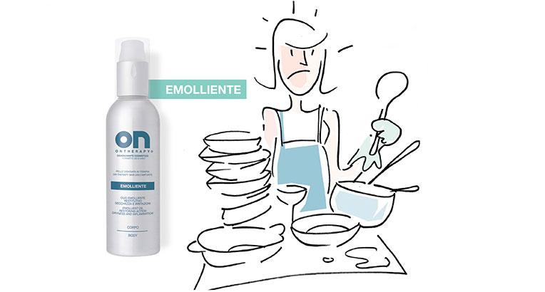 OLIO EMOLLIENTE - RESTITUTIVO CORPO - 150 ml